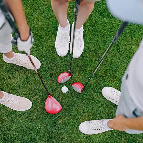 ゴルフグッズの写真